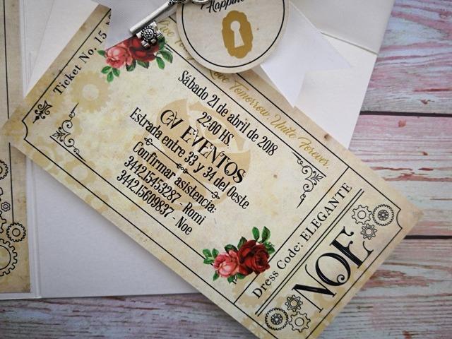 Invitación 15 años TQ062 (Tomorrowland)
