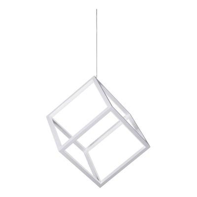 Colgante Led 1 Luz Dados 50w Moderno Diseño Minimalista Mg