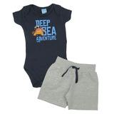 Conjunto Bebê Deep Sea TMX Kids&Teens