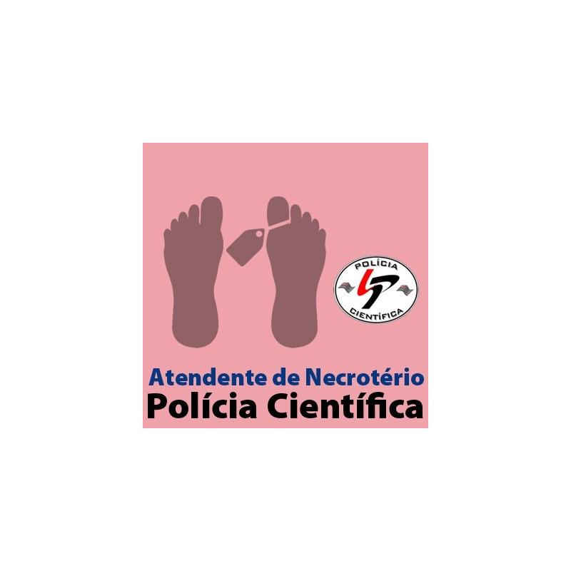 SPTC - Polícia Científica - Atendente de Necrotério - Criminologia