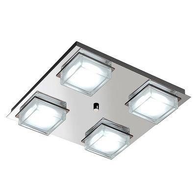 Plafon Led Cube 4 Luces Alta Potencia 48w Dimerizable A