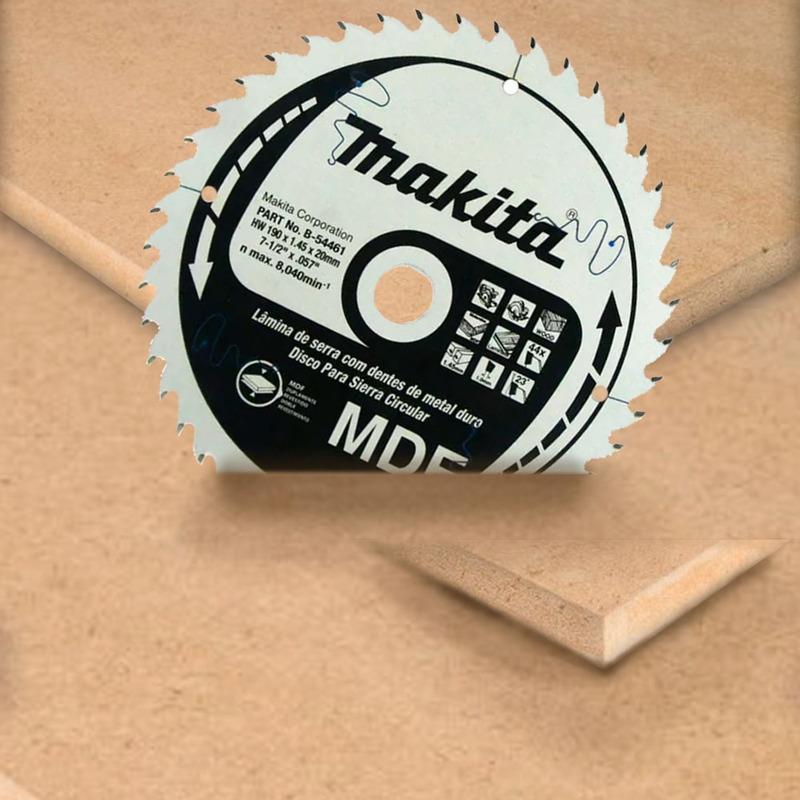 Disco de Serra 190mm 44 Dentes - B-54461 - Makita<BR>