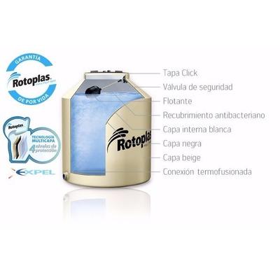Tanque de agua rotoplas multicapa 850 con acc aquacent for Tanque de agua rotoplas