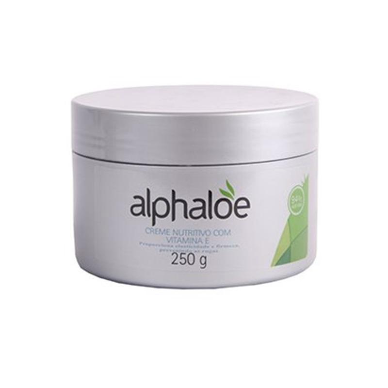 Creme Facial Nutritivo + Vit. E 94% de Aloe - 250g Alphaloe