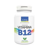 Vitamina B12 - Cobalamina - 60 Compr. 2,4mcg Vital Natus