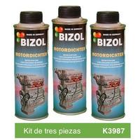 Aditivo para Aceite Bizol Restaurador de Sellos Kit 3p de 250ml