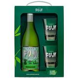 Kit Sakê Fuji + 2 copos de vidro - Stoliskoff
