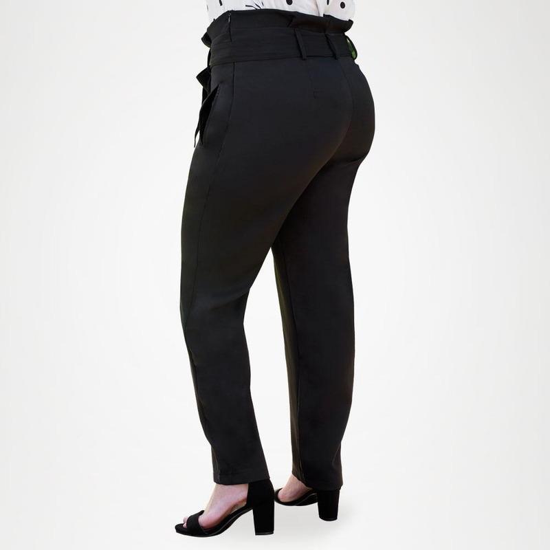 Pantalón Negro con Liston 019360