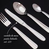 cuchillos de mesa acero inoxidable punta redonda  20 docenas
