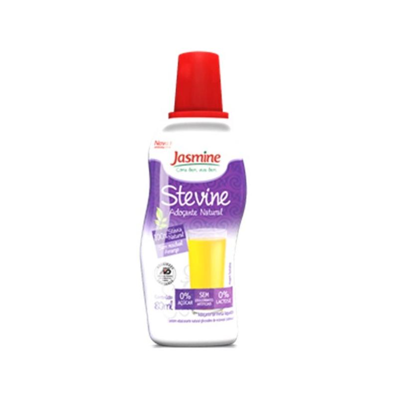 Adocante Natural Stevine Liquido - 80ml Jasmine