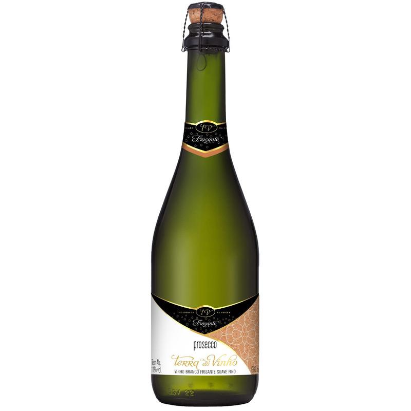 Prosecco Branco Frisante Suave Fino 660ml - Adega Terra do Vinho