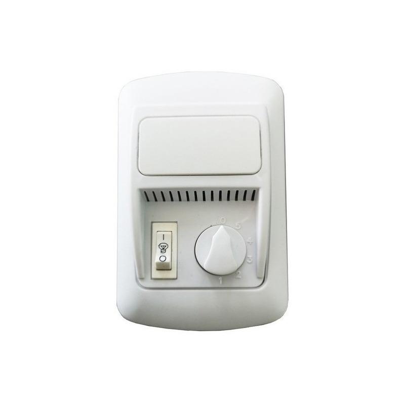 Ventilador De Techo Acero 4 Palas Con Led 18w Garantía Tg