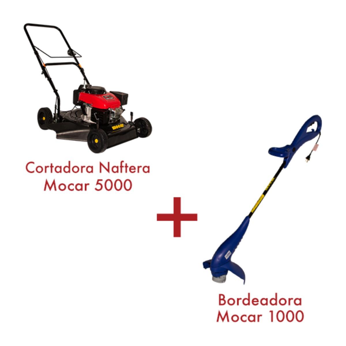 Cortadora Naftera Modelo 5000 + Bordeadora 1000