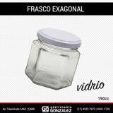 Frasco Exagonal