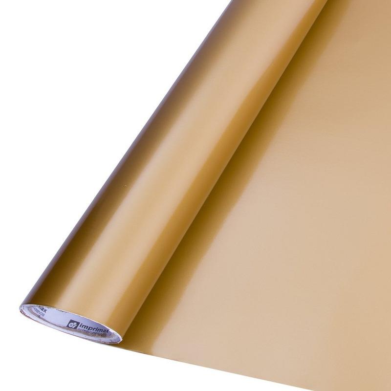 Vinil adesivo colormax ouro larg. 1,0 m
