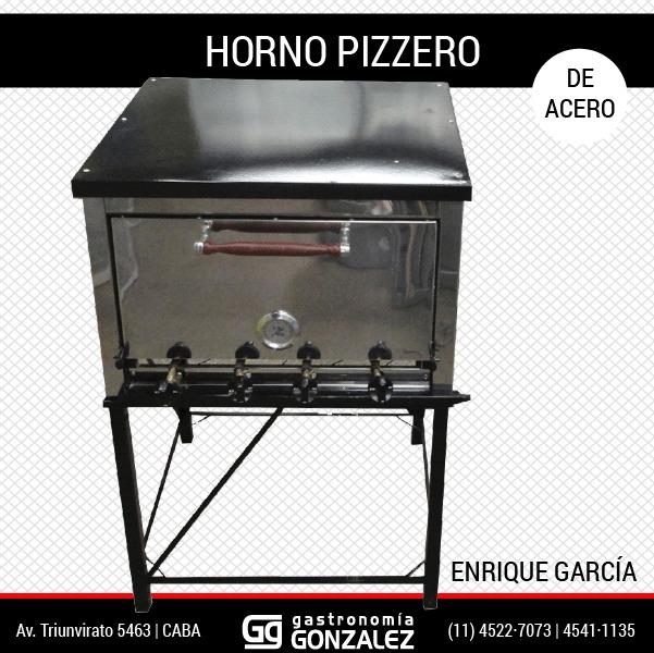 Horno Pizzero 3M Enrique García