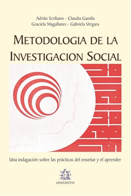 Metodologia de la investigacion social. Adrian Scribano