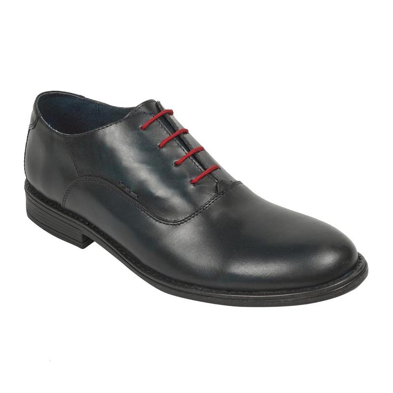 Zapato vestir agujetas rojas 018764