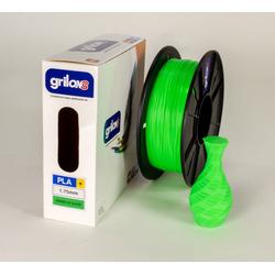 Filamento 3d Pla+ VERDE UV GLOW Grilo...