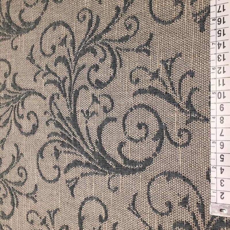 Tecido para estofado linho arabesco rústico  Linen 21
