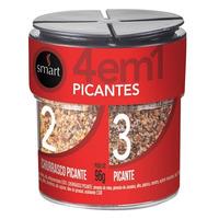 Mix de Temperos Picantes 4x1 - 101g - Smart