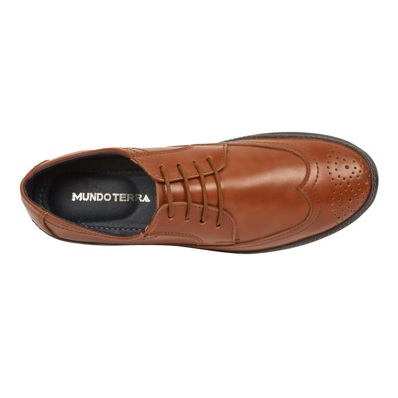 Zapato miel agujetas 018779