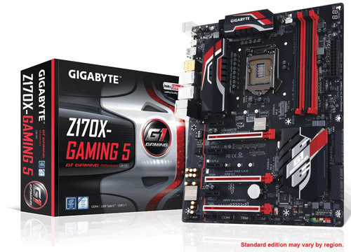 Mother Gigabyte Z170x Gaming 5 Ddr4 Intel 1151 Sli Cross