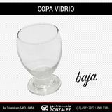 Copa Vidrio Baja