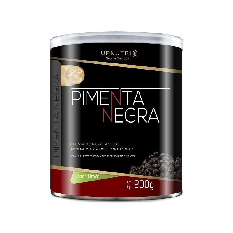Pimenta Negra com Chá Verde (Sabor Limao) - 200g - UpNutri