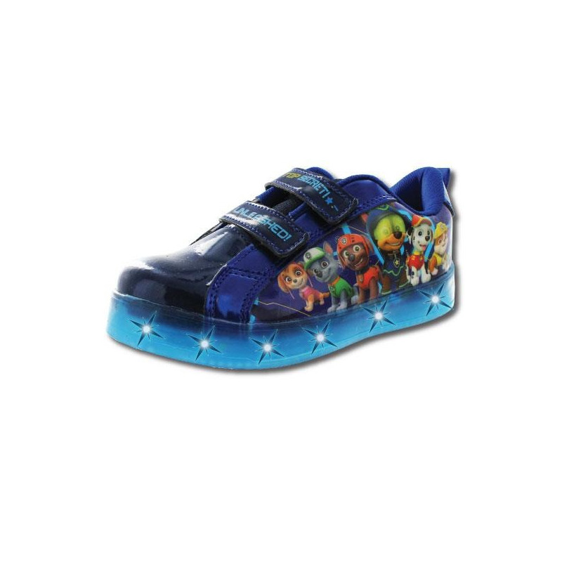 Sneakers Paw Patrol azules con luces T03404