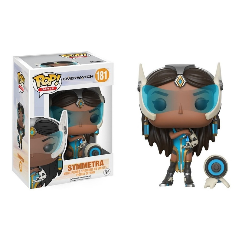 Symmetra Pop Funko #181 - Overwatch - Games