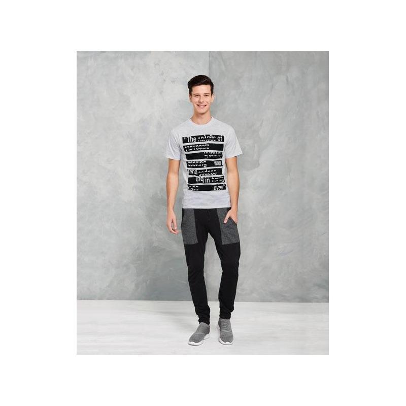 Pantalón deportivo negro 015623