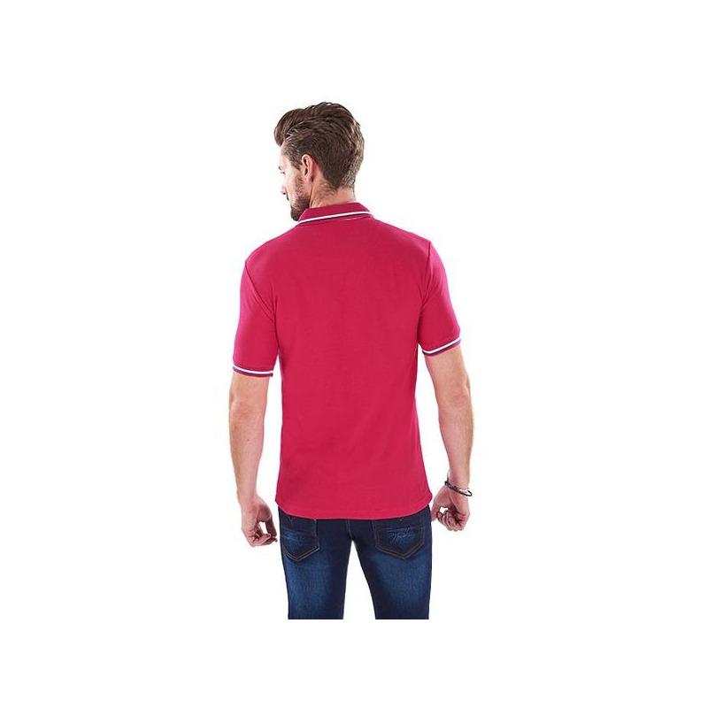 Camisa rosa manga corta 014545