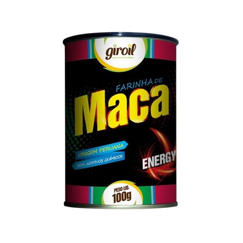 Farinha de Maca Peruana Energy 100g - Giroil