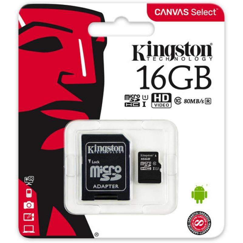 Memoria Microsd 16 GB