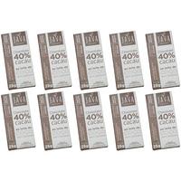 Chocolate 40% Cacau ao Leite de Coco - Cx.10x25g - Java