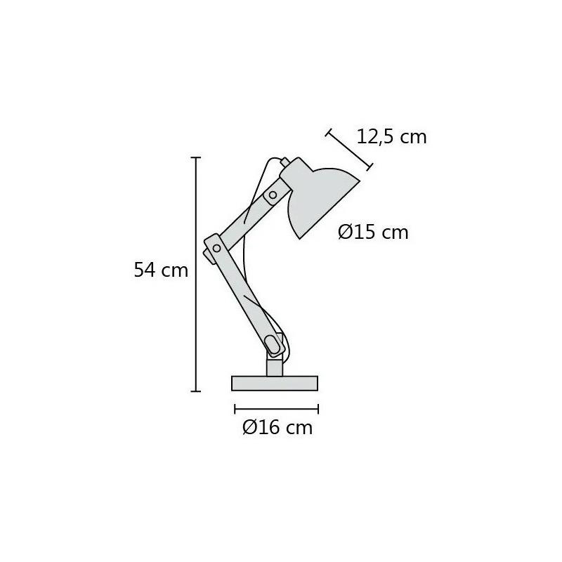 X 2 Lampara Velador Arlon Negro Cable Textil Madera Apto Led