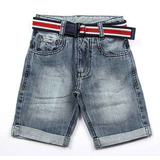 Bermuda Jeans Slim Masculina Crawling
