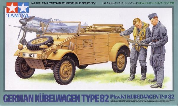 Kübelwagen 82  - Pkw.K1 KÜBELWAGEN Tipo 82