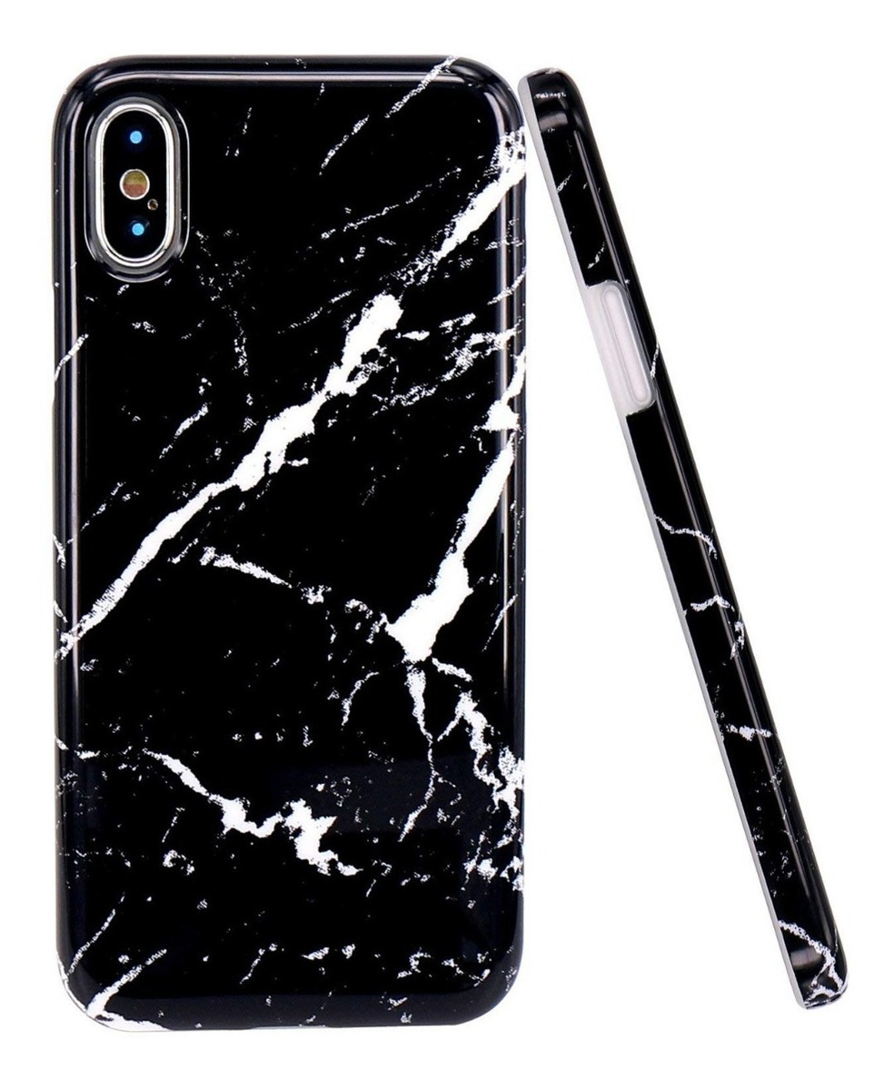 FUNDA MARMOL NEGRO IPHONE X/XS MAX