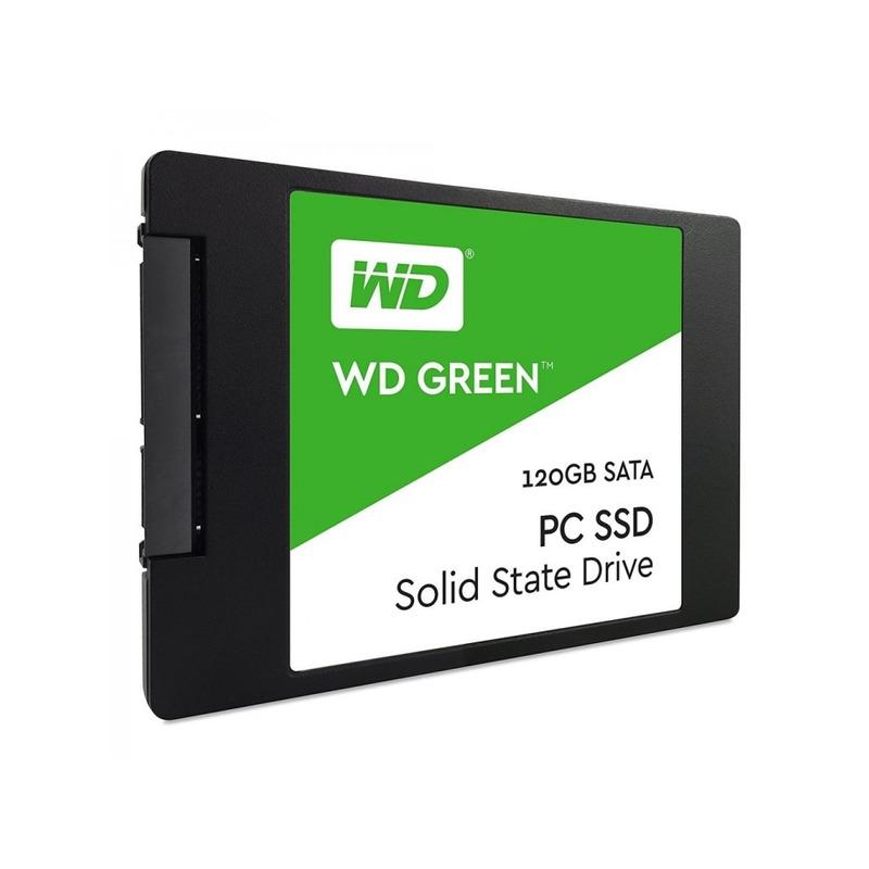 Unidad de Estado Sólido SSD Western Digital 120Gb Green