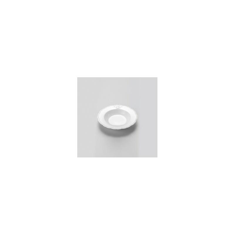 Jogo 6 Pratos Fundos Queen de Porcelana 21,5Cm - Lyor 4107009