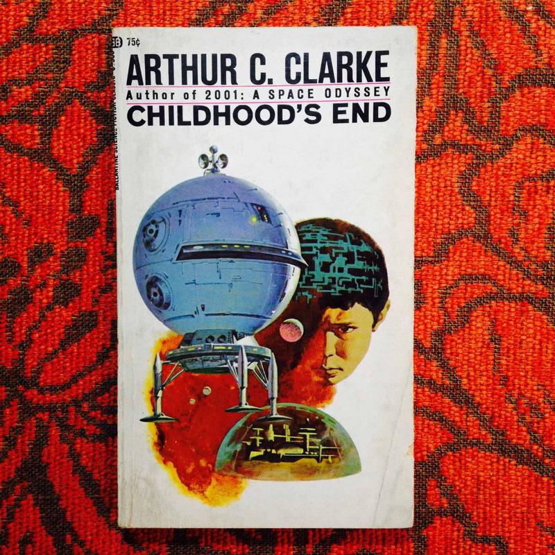 Arthur C. Clarke.  CHILDHOOD'S END.