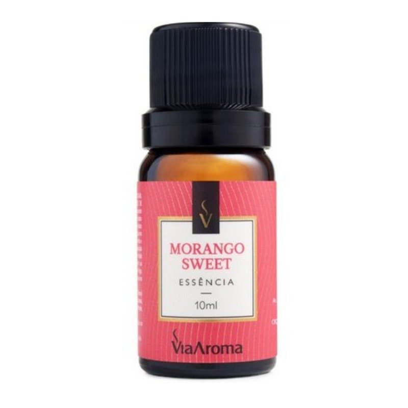 Essencia de Morango Sweet - 10ml - Via Aroma