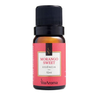 Essencia de Morango Sweet - 10ml - Via Aroma