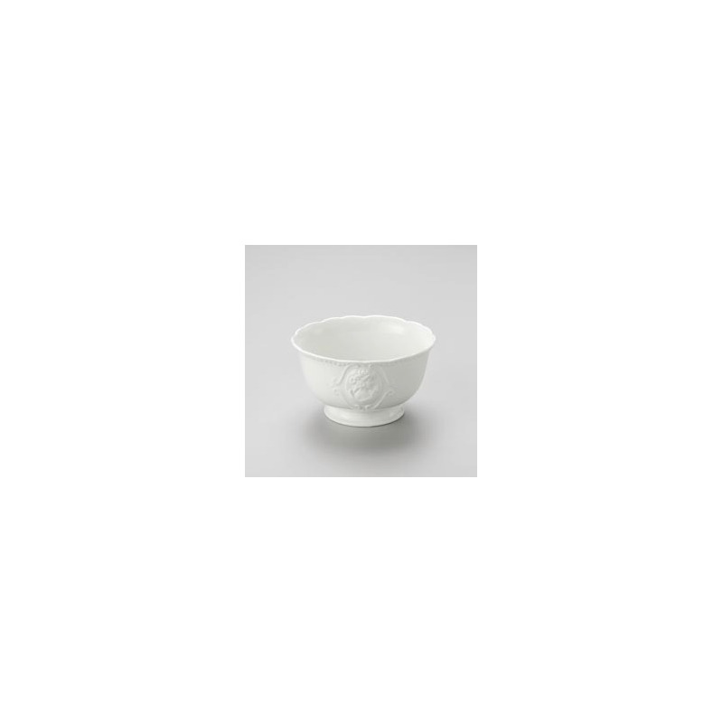 Jogo 6 Bowls Queen de Porcelana Ø14Cm