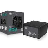 Fuente de Poder Cooler Master MasterWatt Lite 600W 80+