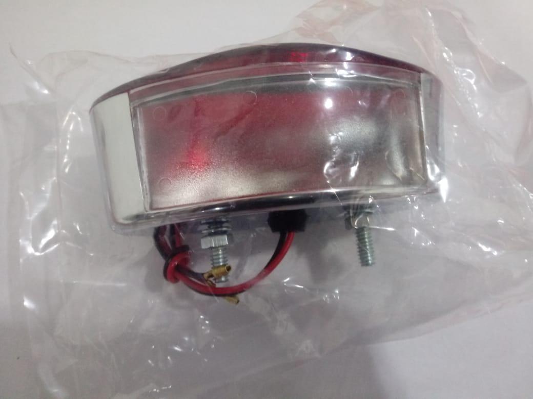 Lanterna Traseira Harley Custom Formato Olho de Gato 8-79 2P