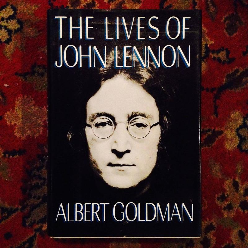 Albert Goldman. THE LIVES OF JOHN LENNON.
