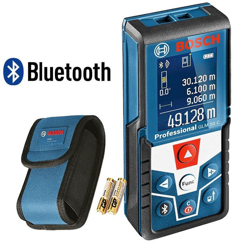 Trena à Laser com Função Bluetooth 50 Metros - GLM 50 C - Bosch